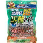 (まとめ)ドギーマンヘルシーエクセル低脂肪ササミ&21種の野菜ジャーキーフード 400g【×12セット】