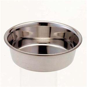 (まとめ)ドギーマンステンレス製食器 犬用皿型 ミニ【×12セット】 - 拡大画像