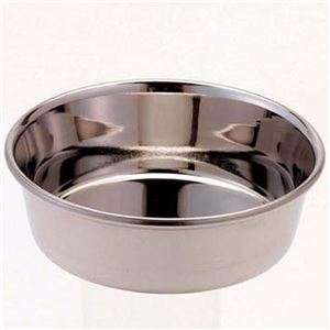 (まとめ)ドギーマンステンレス製食器 犬用皿型 SS【×12セット】 - 拡大画像