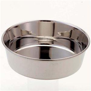 (まとめ)ドギーマンステンレス製食器 犬用皿型 S【×12セット】 - 拡大画像