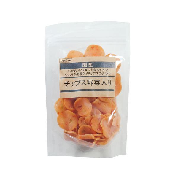 (まとめ)ペットプロ 国産おやつ チップス野菜入り 130g【×10セット】