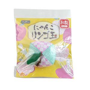 (まとめ)ペットプロ にゃんこりんご玉 桜【×12セット】 - 拡大画像