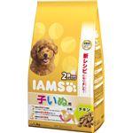 (まとめ) IAMS(アイムス) 12か月までの子いぬ用 チキン 小粒 1.2kg 【×3セット】 (ペット用品・犬用フード)