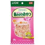 (まとめ) PETKISS 猫ちゃんの歯みがきおやつ カニ風味かま 15g 【×12セット】 (ペット用品・猫用フード)