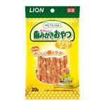 (まとめ) PETKISS 猫ちゃんの歯みがきおやつ ササミ&チーズ 20g 【×12セット】 (ペット用品・猫用フード)