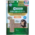 (まとめ) PETKISS 食後の歯みがきガム プレミアム 小型犬用 6本 【×6セット】 (ペット用品・犬用フード)