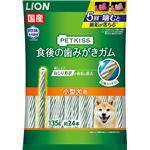 (まとめ) PETKISS 食後の歯みがきガム 小型犬用 135g(約24本) 【×6セット】 (ペット用品・犬用フード)