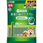 (まとめ) PETKISS 食後の歯みがきガム 超やわらかタイプ 超小型犬〜小型犬用 90g(約35本) 【×6セット】 (ペット用品・犬用フード)