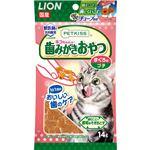 (まとめ) PETKISS 猫ちゃんの歯みがきおやつ まぐろ味 プチ 14g 【×12セット】 (ペット用品・猫用フード)