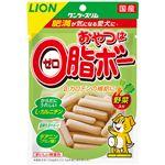 (まとめ) ワンツースリム おやつは0脂ボー 野菜入 80g 【×12セット】 (ペット用品・犬用フード)