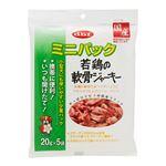 (まとめ) ミニパック 若鶏の軟骨ジャーキー 100g 【×6セット】 (ペット用品・犬用フード)