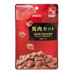 (まとめ) デビフ 馬肉カット 40g 【×6セット】 (ペット用品・犬用フード)