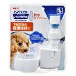(まとめ) ピュアクリスタル ドリンクボウル犬用 【×8セット】 (ペット用品)