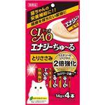 (まとめ)CIAO  エナジーちゅ〜る とりささみ 14g×4本(ペット用品・猫用フード)【×12セット】