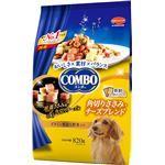 (まとめ)コンボ ドッグ 角切りささみ・チーズブレンド 820g(ペット用品・犬用フード)【×5セット】