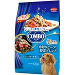 (まとめ)コンボ ドッグ 角切りビーフ・野菜ブレンド 820g(ペット用品・犬用フード)【×5セット】