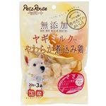 (まとめ)無添加 煮込み鶏 ささみ 60g(20g×3袋)(ペット用品・犬用フード)【×20セット】