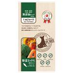 (まとめ)国産 いぬぴゅーれ 無添加 野菜ミックス 4本(ペット用品・犬用フード)【×12セット】