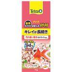 (まとめ)テトラ 金魚 ラクラクお手入れ砂利 ピンクミックス 1kg(ペット用品)【×10セット】