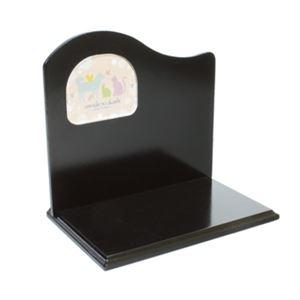 オモイデノアカシ 単品背板ステージ ブラック B型(ペット用品・仏具) - 拡大画像