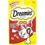 (まとめ) ドリーミーズ シーフード&チキン味 60g (ペット用品・猫用フード) 【×20セット】