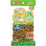 (まとめ) ニャン太のとってもおいし草 カリカリクリスピー 40g (ペット用品・猫用フード) 【×30セット】