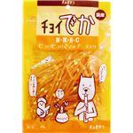 (まとめ) チョイでか ヒョロヒョロささみチーズ 60g (ペット用品・犬用フード) 【×10セット】
