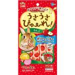 (まとめ) うさうさぴゅーれ りんご 10g×5本入 (ペット用品) 【×10セット】