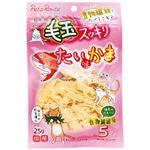 (まとめ) 毛玉スッキリ たい味かま 25g (ペット用品・猫用フード) 【×20セット】