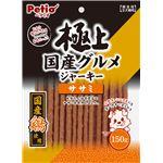 (まとめ) 極上国産グルメジャーキー ササミ 150g (ペット用品・犬用フード) 【×10セット】