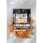 (まとめ) The WILD CHICKEN JERKY 80g (ペット用品・犬用フード) 【×10セット】