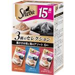 (まとめ) シーバ リッチ 15歳以上 ごちそうフレーク 鶏ささみ味と海のアソート 35g×6袋パック (ペット用品・猫用フード) 【×10セット】
