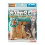 (まとめ) チューデント 小型〜中型犬用 4本入 (ペット用品・犬用フード) 【×10セット】