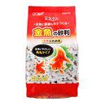 (まとめ) 金魚の砂利ナチュラルミックス2.5K (ペット用品) 【×5セット】