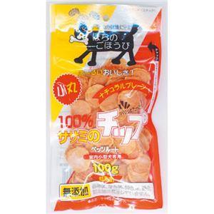 (まとめ) ササミのチップ 小丸タイプ 100g (ペット用品・犬用フード) 【×5セット】 - 拡大画像