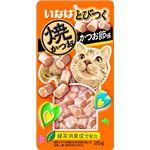 (まとめ) いなば とびつく焼かつお かつお節味 25g 【×24セット】 (ペット用品・猫用フード)