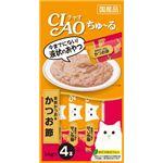 (まとめ) CIAO ちゅ〜る 宗田かつお&かつお節 14g×4本 【×12セット】 (ペット用品・猫用フード)
