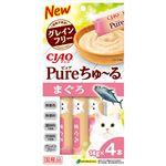 (まとめ) CIAO Pureちゅ〜る まぐろ 14g×4本 【×12セット】 (ペット用品・猫用フード)