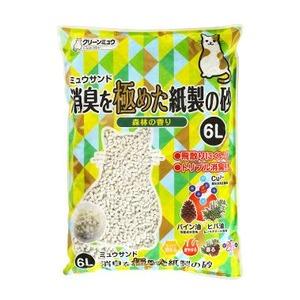 (まとめ)CMミュウサンド消臭を極めた紙製の砂6L【ペット用品】【×7セット】 - 拡大画像