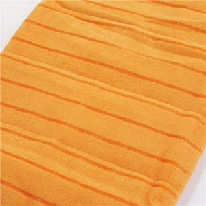 発熱マイクロファイバー  ULTRA HOT(ウルトラ ホット) 膝掛け オレンジ - 拡大画像
