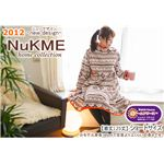 NuKME(ヌックミィ) 2012年Ver ショート丈(125cm) スノー柄/ベージュ