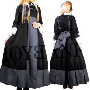 大きいサイズ】修道女風クラシックロングドレス【コスプレ