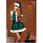 【クリスマスコスプレ】サンタクロースコスプレセット/コスプレ/コスチューム/衣装/s014-1