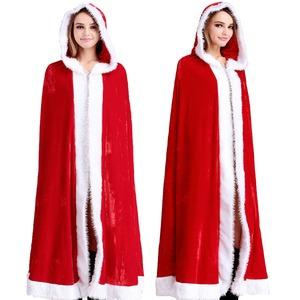 8896RD/サンタクロース コスチューム【クリスマス/クリスマス衣装/サンタ/サンタクロース衣装/クリスマスコスプレ/コスプレ/イベント/パーティ/仮装】 - 拡大画像