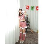9201ピンク【3色サンタ衣装/サンタ/クリスマス/イベント/パーティ/コスプレ/コスチューム/仮装/衣装】