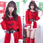 9237【ホットパンツ 赤 サンタ衣装/サンタ/クリスマス/イベント/パーティ/コスプレ/コスチューム/仮装/衣装】