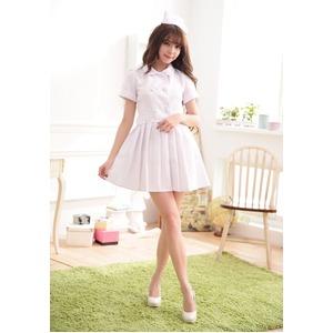 5197 白 ナース服 看護婦 コスプレ衣装