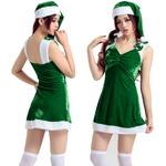 7300【クリスマス/サンタクロース/コスプレ/コスチューム/イベント/パーティ/仮装/衣装】