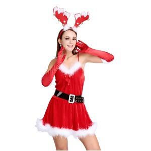 5301【クリスマス/サンタクロース/コスプレ/コスチューム/イベント/パーティ/仮装/衣装】 - 拡大画像