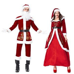 大きいサイズ クリスマス サンタJ8313LL 男性【クリスマス/サンタクロース/コスプレ/コスチューム/イベント/パーティ/仮装/衣装】